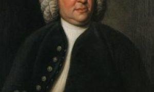Иоганн Себастьян Бах (биография от Шалопая)