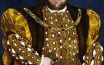 Генрих 8 (король Англии) — биография от Шалопая