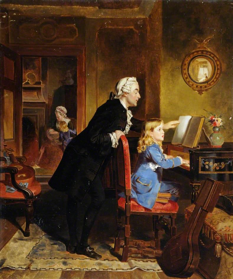 Моцарт и его отец
