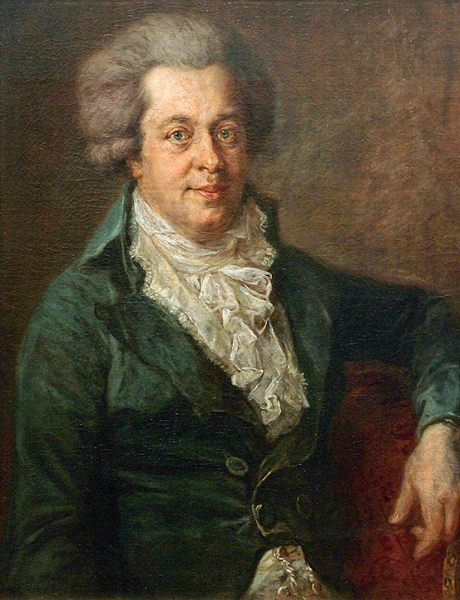 Моцарт незадолго до смерти