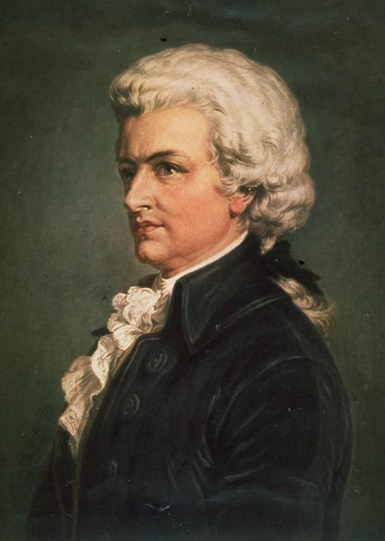 Портрет Моцарта